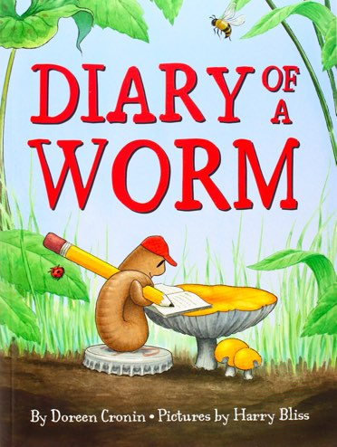 Diary of a Worm book cover