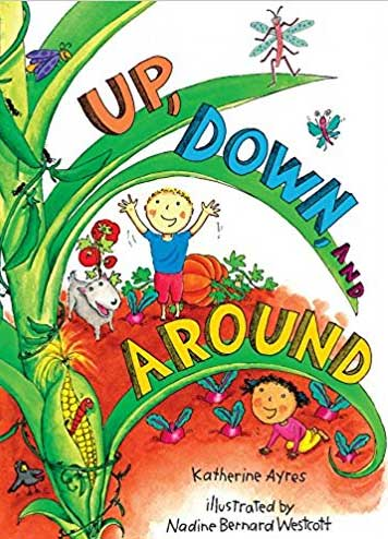 Up, Down and Around book cover