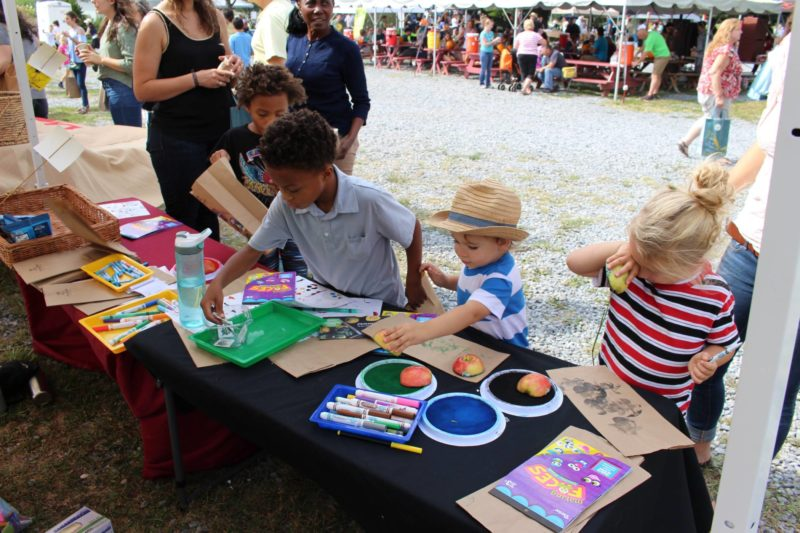 rodale apple fest crafts