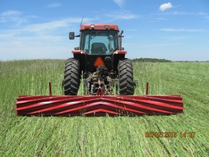 crimping a field