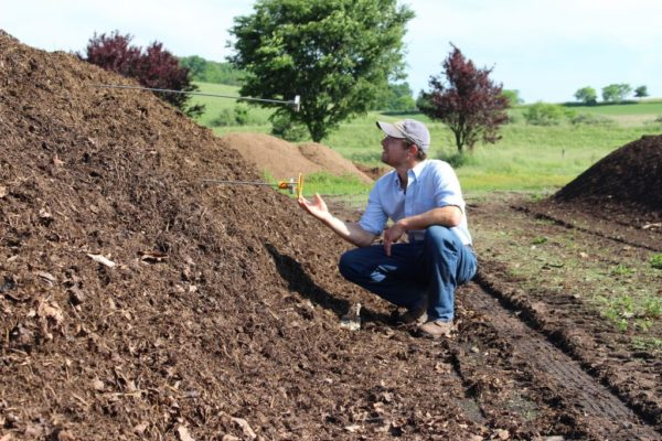 Master Composter Rick Carr at Rodale Institute