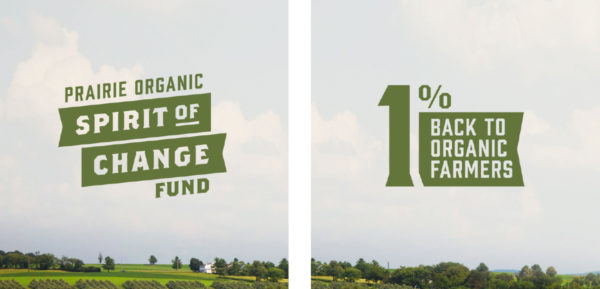 Prairie Organic Spirits gives 1% back to organic farmers