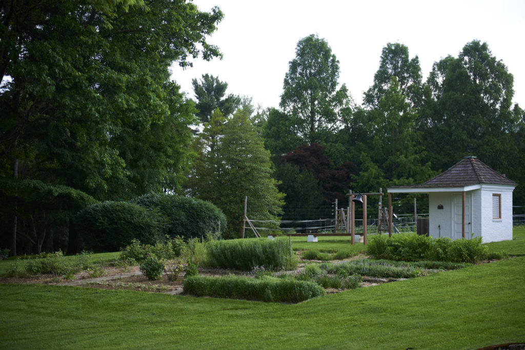 rodale founders garden