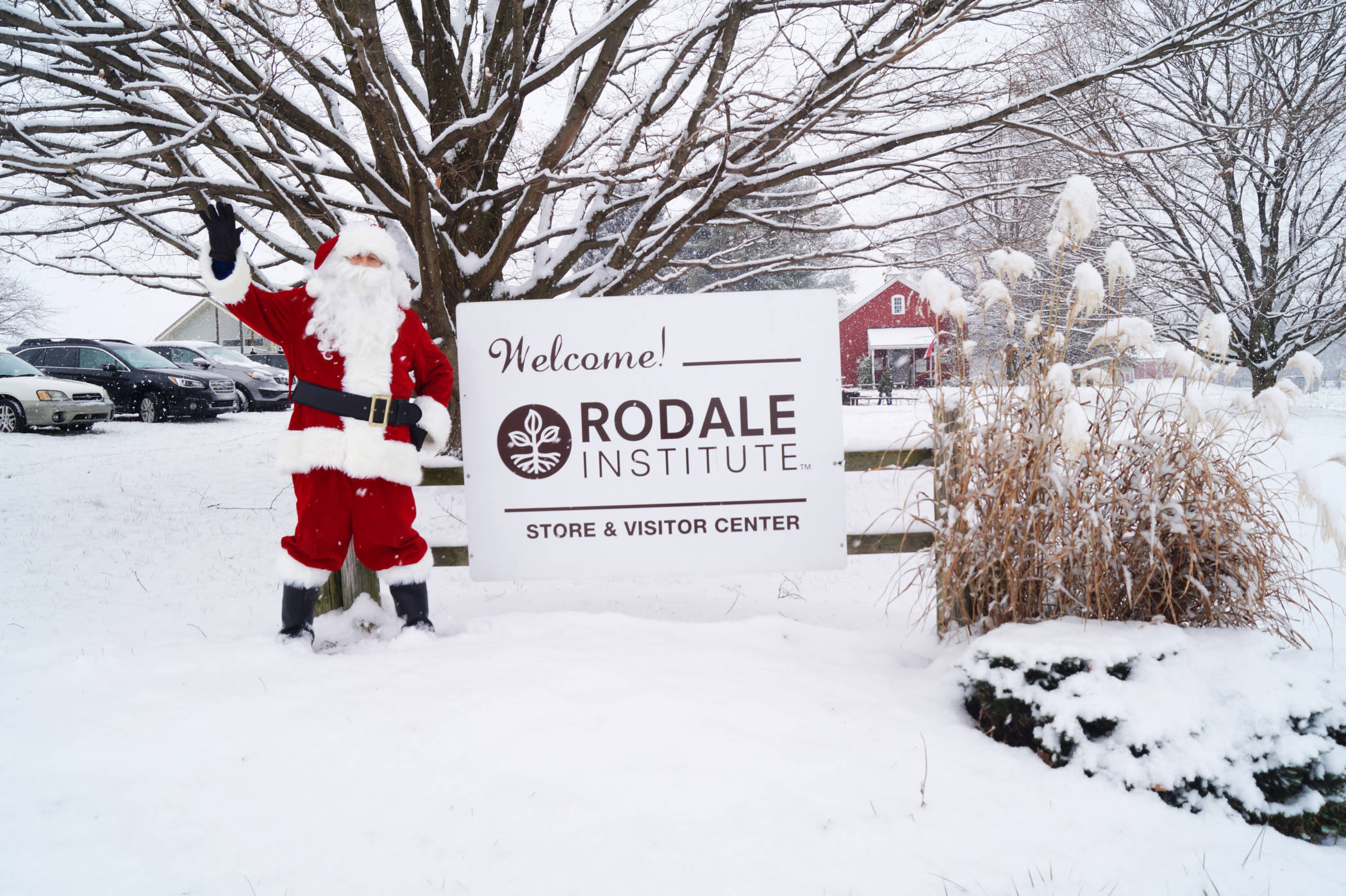 winter at Rodale Institute