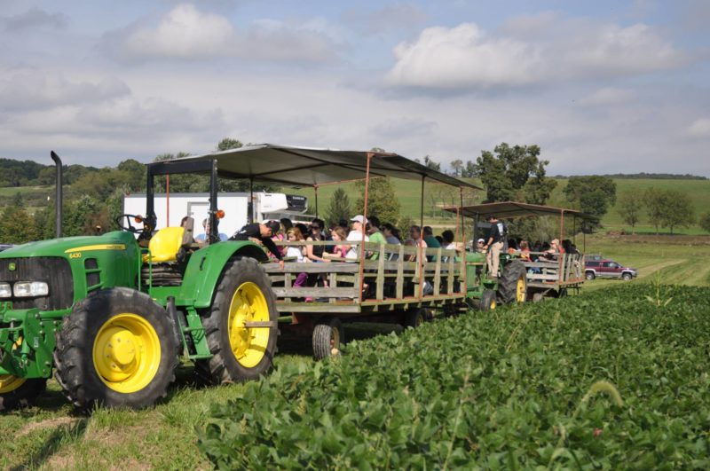 rodale wagon rides