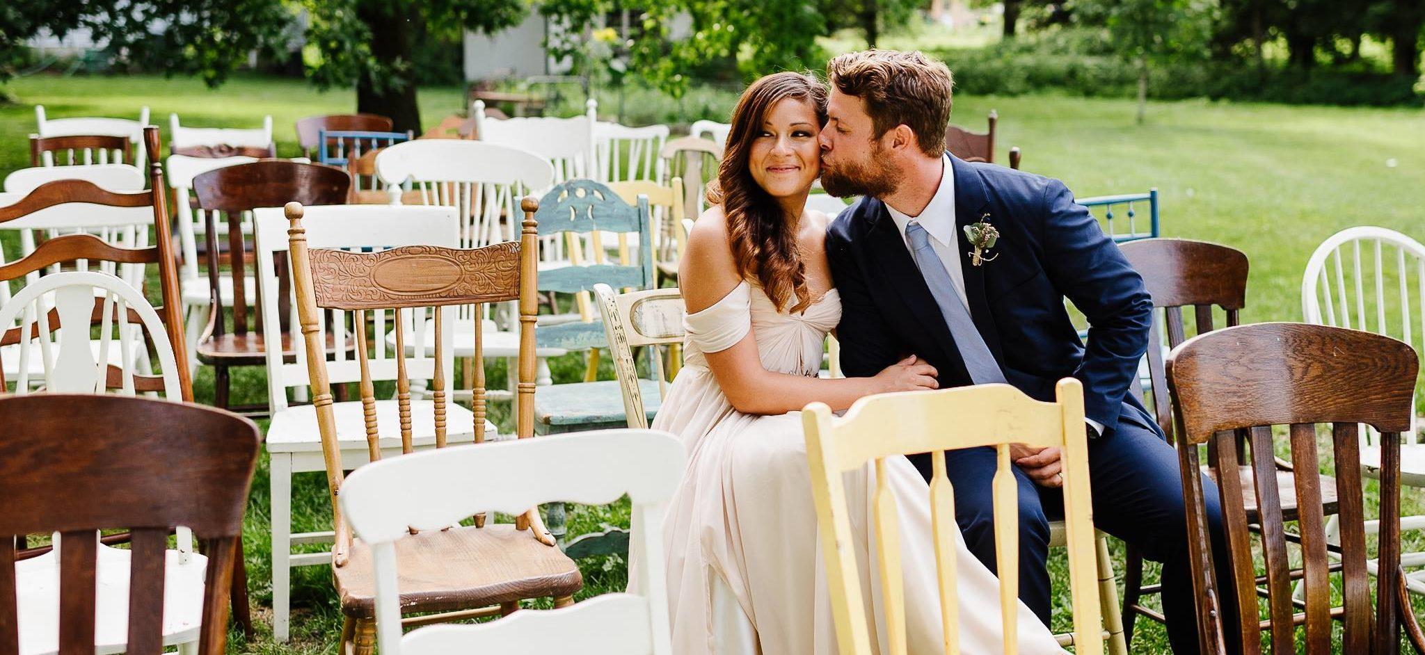rodale wedding couple