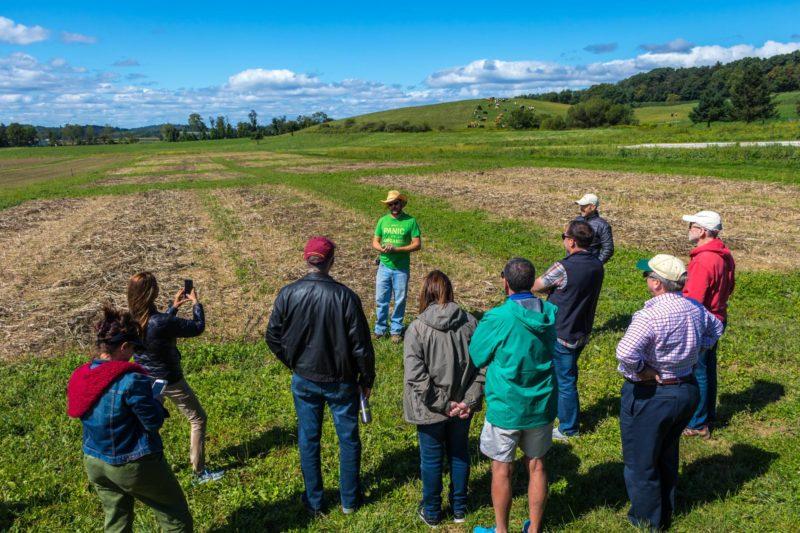 spring rodale farm tour
