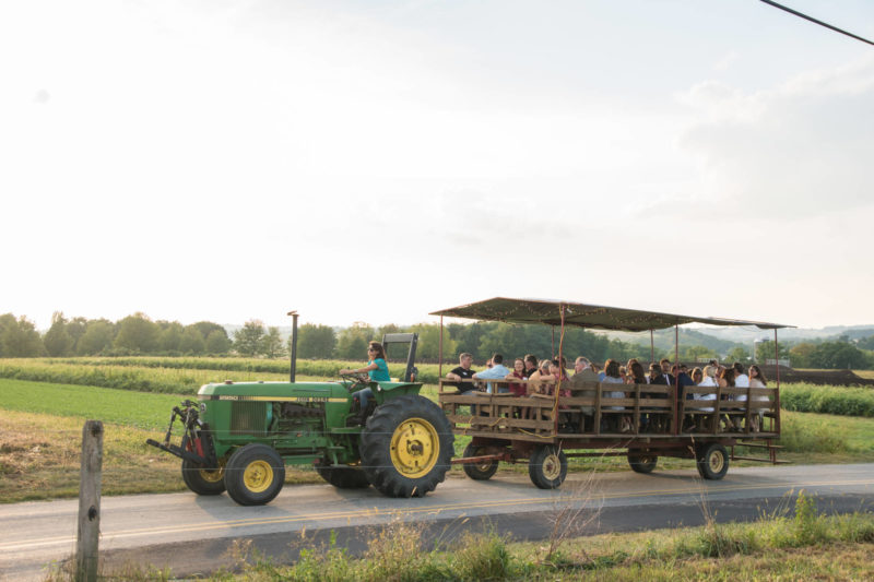 opa wagon ride