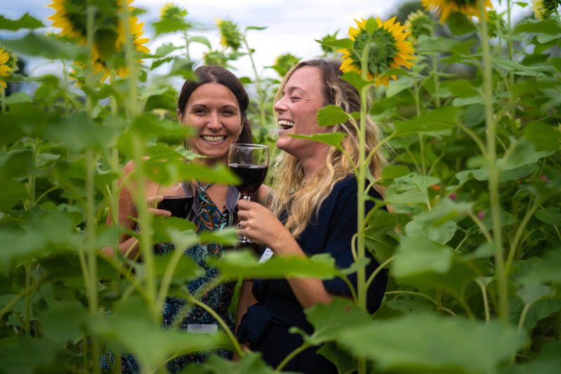 rodale wine and flowers