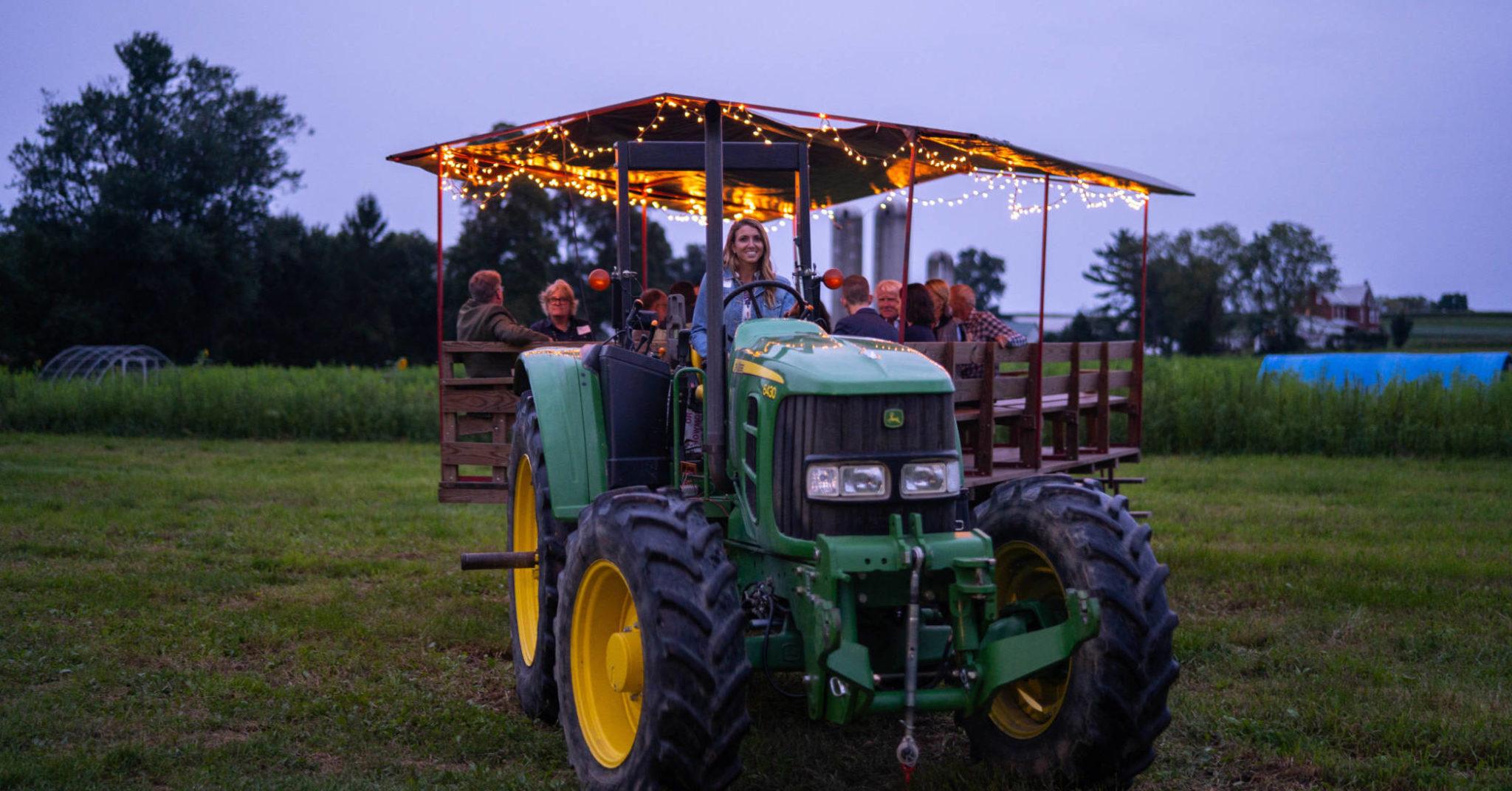 rodale night wagon ride