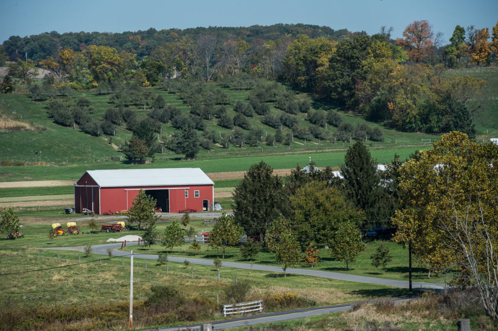 rodale institute farm and barns