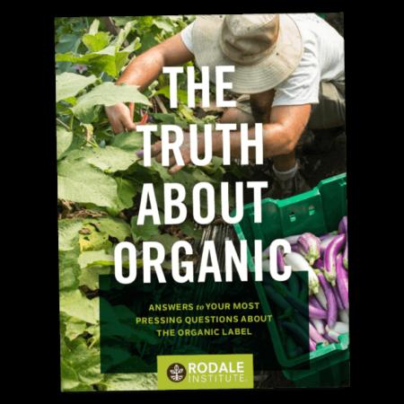 Portada de la guía The Truth About Organic