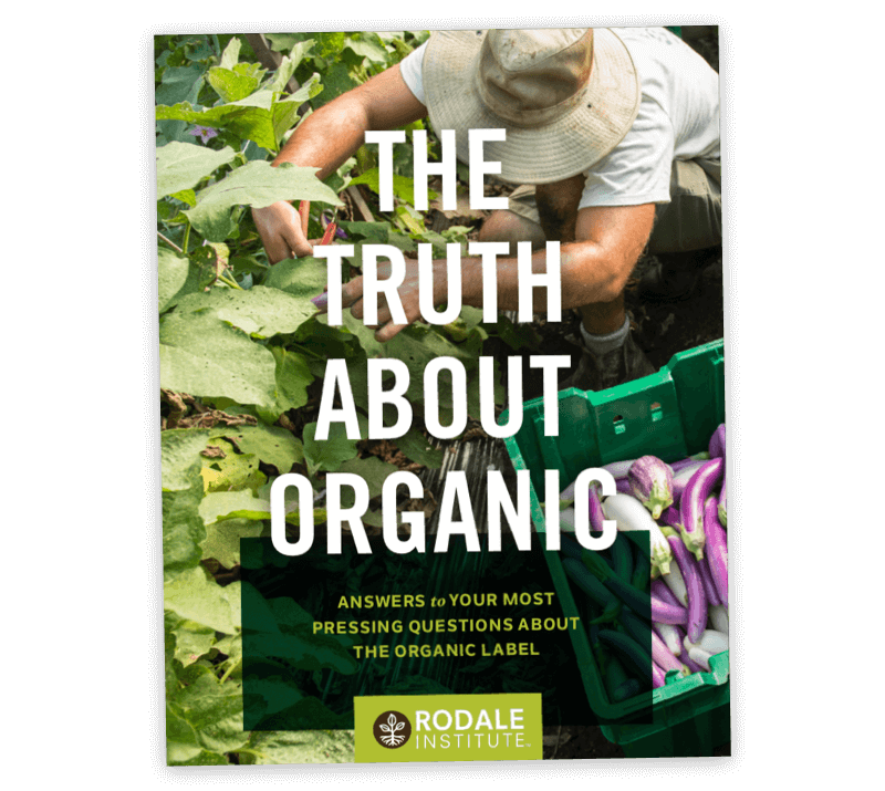 Cover of The Truth About Organic Guide